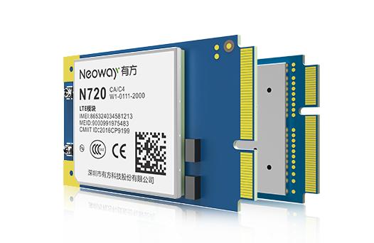有方4G功能模块 N720 Mini PCIe